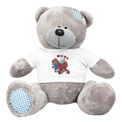 Плюшевый мишка Тедди Собачье счастье
