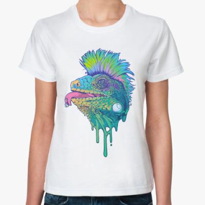 Классическая футболка Игуана-Панк