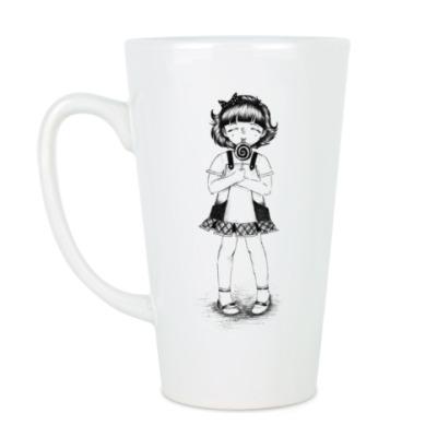 Чашка Латте Карамелька