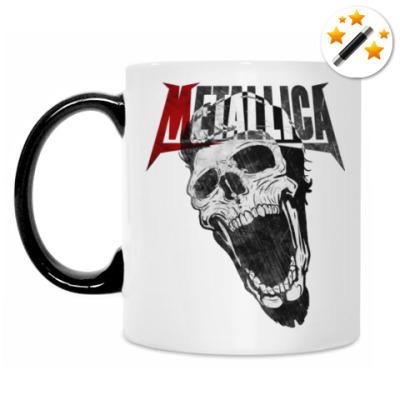 Кружка-хамелеон Metallica Skull