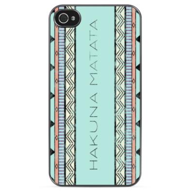 Чехол для iPhone Hakuna Matata