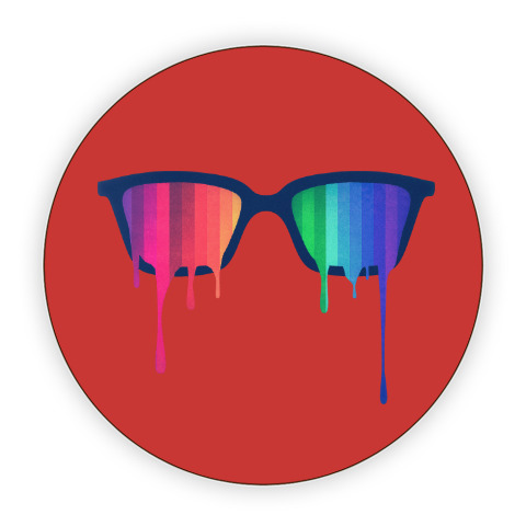 f0a01c23c154 Костер (подставка под кружку) Хипстер  очки - купить в интернет ...