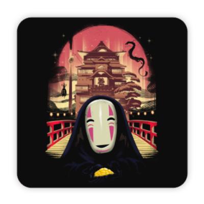 Костер (подставка под кружку) Унесенные призраками Миядзаки