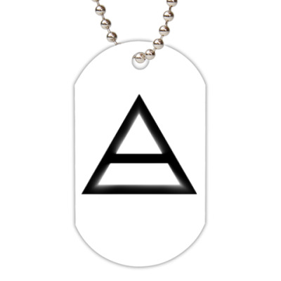 Жетон dog-tag Triad