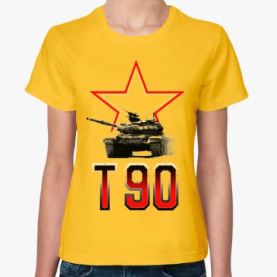 Женская футболка Танк Т-90