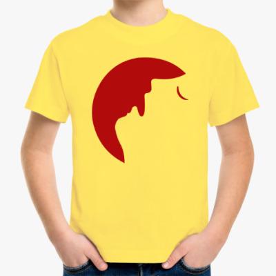 Детская футболка Месяц