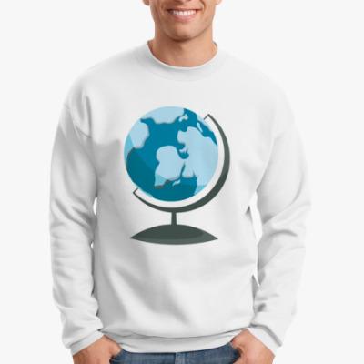 Свитшот Географический глобус