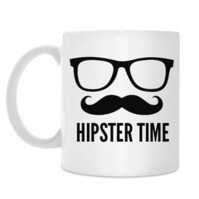 Кружка Hipster Time