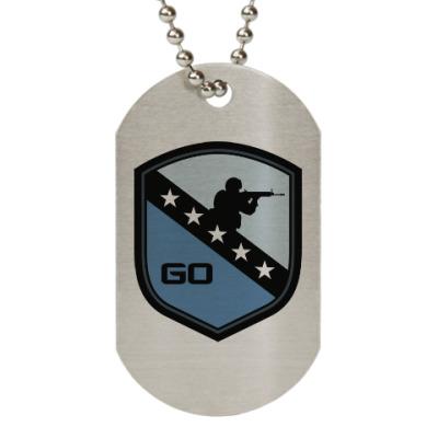 Жетон dog-tag Counter-Strike