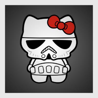 Постер Штурмовик Hello Kitty