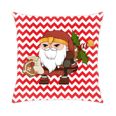 Подушка Brutal Santa