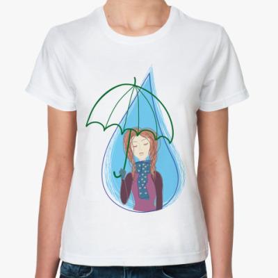 Классическая футболка  'Капля'