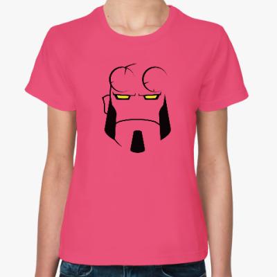 Женская футболка Hellboy