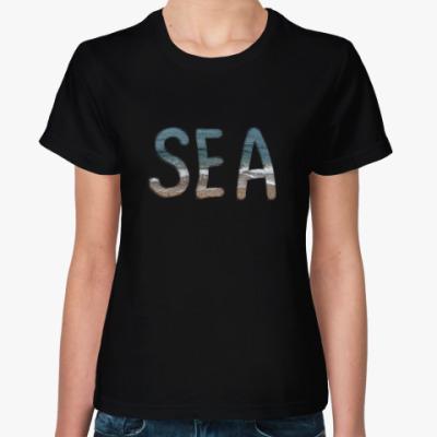 Женская футболка SEA