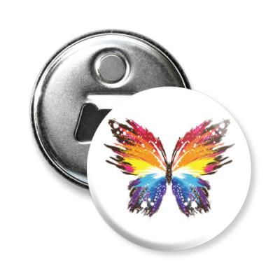 Магнит-открывашка Бабочка