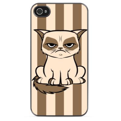 Чехол для iPhone Grumpy cat