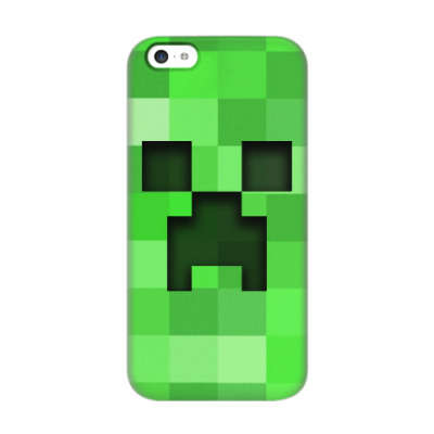 Чехол для iPhone 5c Minecraft Creeper