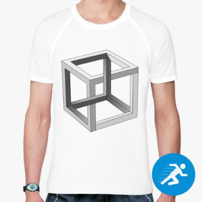 Спортивная футболка Невозможный Куб 3D
