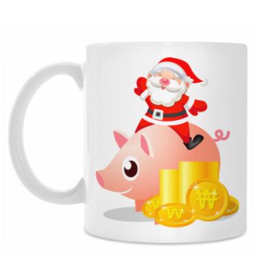 Кружка Santa Piggy Bank