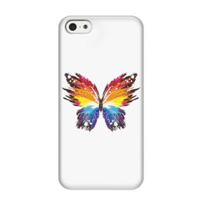 Чехол для iPhone 5/5s Бабочка