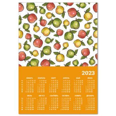 Календарь Яблоки