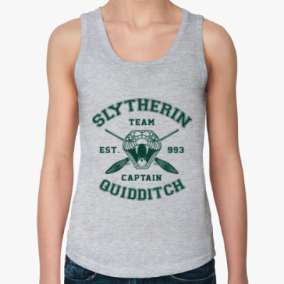 Женская майка Slytherin Quidditch Team