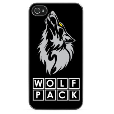 Чехол для iPhone WolfPack