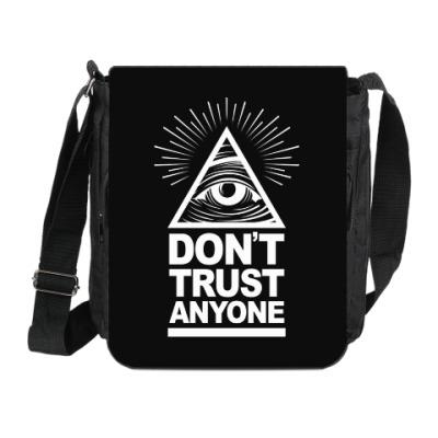 Сумка на плечо (мини-планшет) Don't Trust Anyone