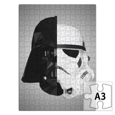 Пазл Star Wars: Вейдер и Штурмовик