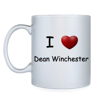 Кружка I Love Dean