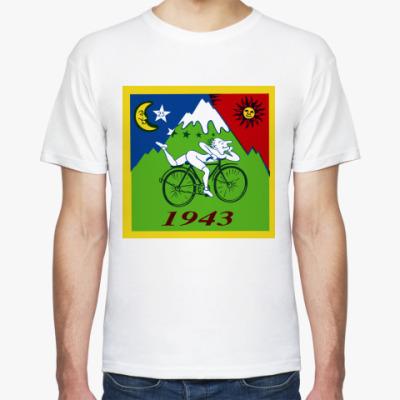 Футболка  Bicycle Day