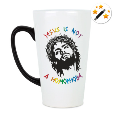 Кружка-хамелеон Jesus is not a homophobe
