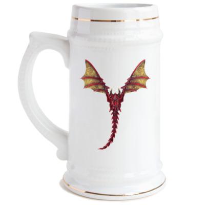 Пивная кружка Дракон