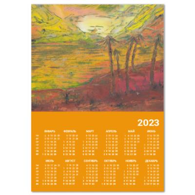 Календарь пальмы