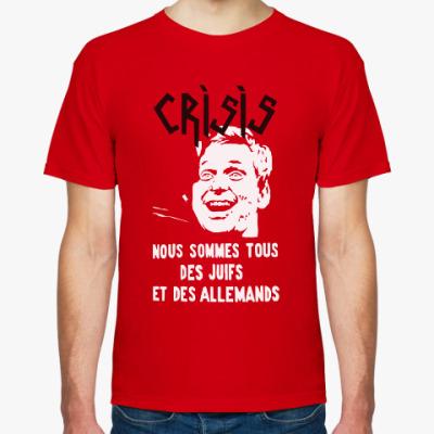 Футболка Crisis 'Cohn-Bendit'