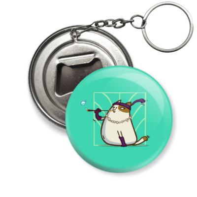 Брелок-открывашка Кэтсби — Пятничный Котик №33