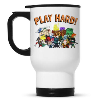 Кружка-термос Play Hard!