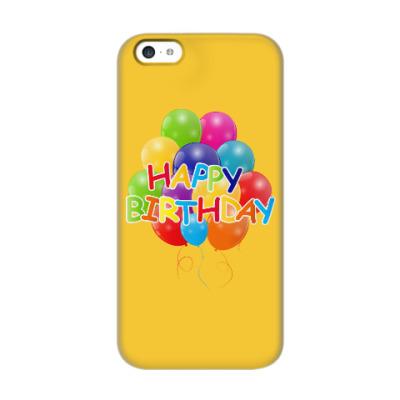 Чехол для iPhone 5c Happy Birthday