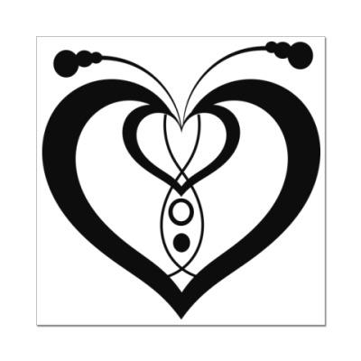 Наклейка (стикер) Сердце