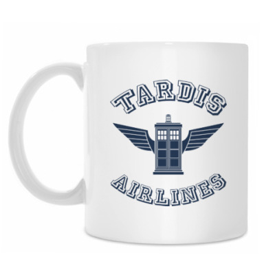Кружка Tardis Airlines