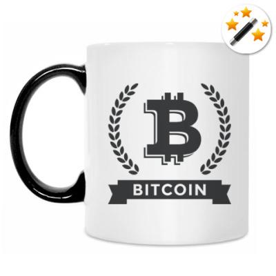 Кружка-хамелеон Bitcoin - Биткоин