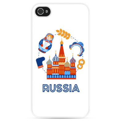 Чехол для iPhone Russia, Россия