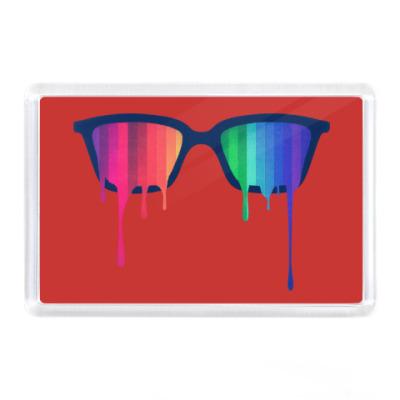 Магнит Хипстер: очки