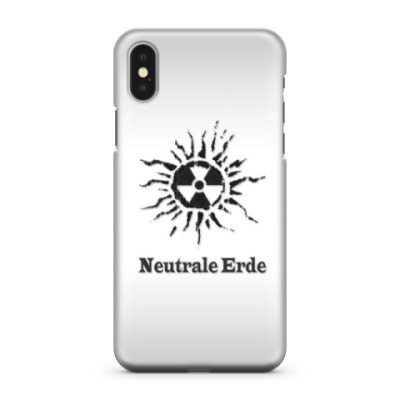 Чехол для iPhone X Neutrale Erde