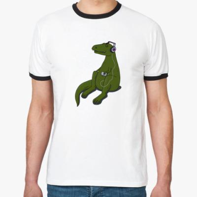 Футболка Ringer-T Тираннозавр