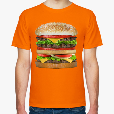 Футболка Вкусняшка гамбургер