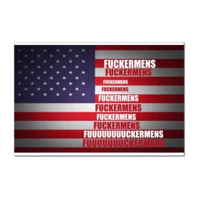 Наклейка (стикер) США