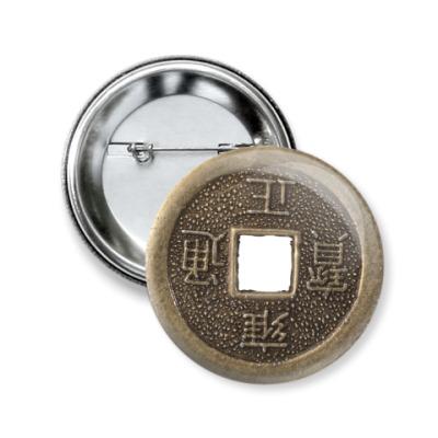 Значок 50мм Монета судьбы
