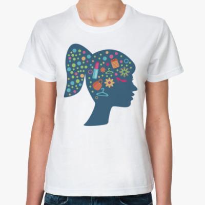 Классическая футболка Мысли