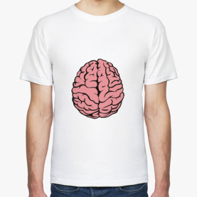Футболка Мозг и дрель